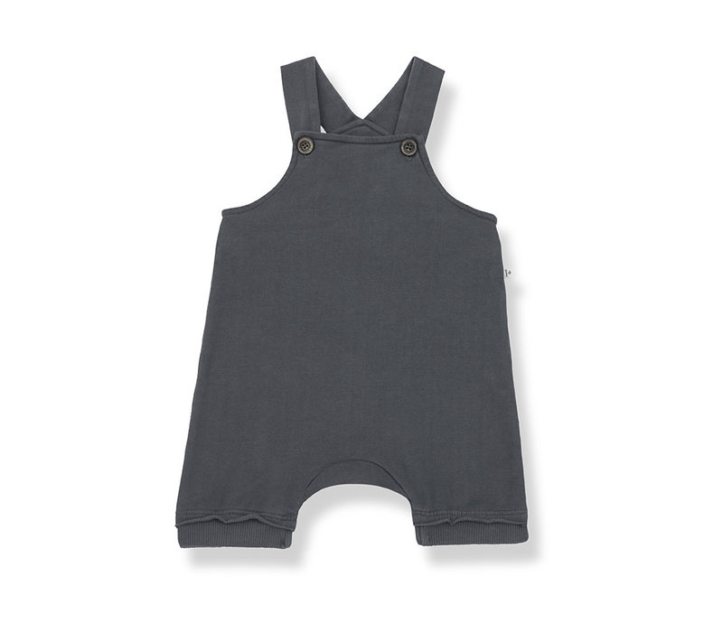 1+ in the Family Ilai short overall anthracite
