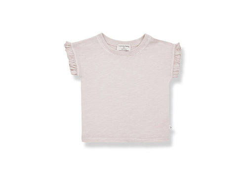 1+ IN THE FAMILY 1+ in the Family Mireia s. sleeve t-shirt rose