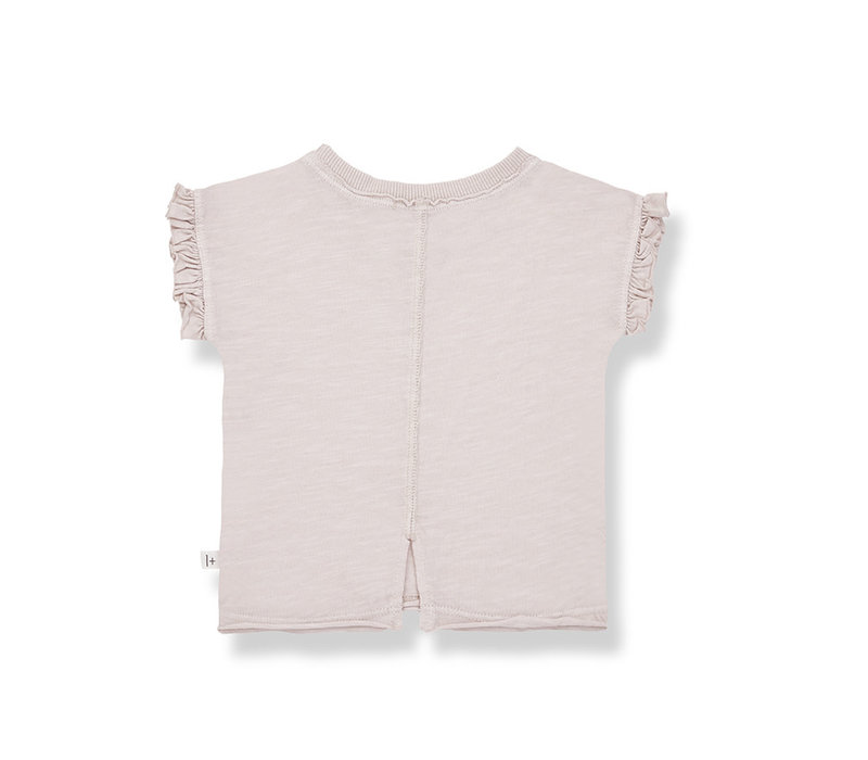 1+ in the Family Mireia s. sleeve t-shirt rose