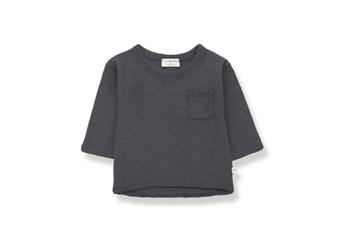 1+ IN THE FAMILY 1+ in the Family Pere long sleeve t-shirt anthracite