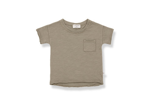 1+ IN THE FAMILY 1+ in the Family Nani s.sleeve t-shirt khaki