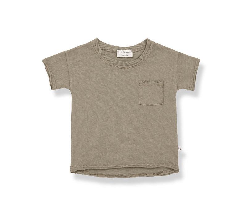 1+ in the Family Nani s.sleeve t-shirt khaki