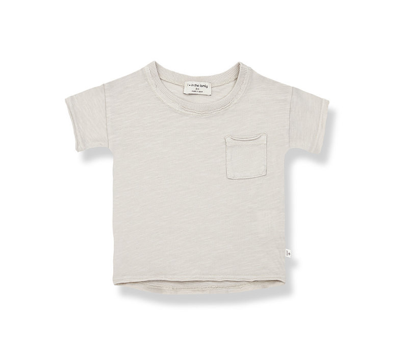 1+ in the Family Nani s.sleeve t-shirt stone