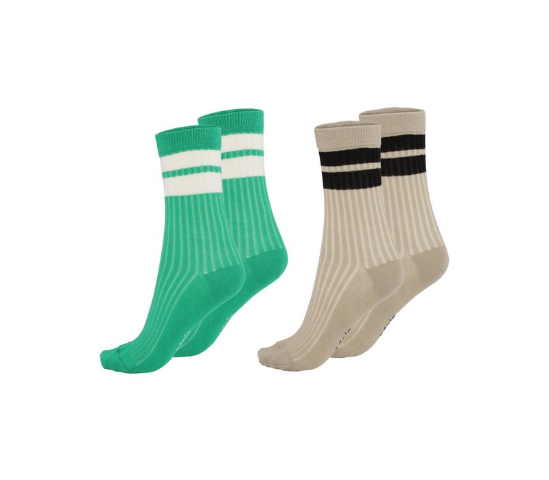 Molo Nickey Socks Royal Green