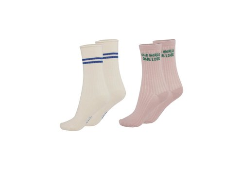 Molo Molo Nomi Socks Petal Blush