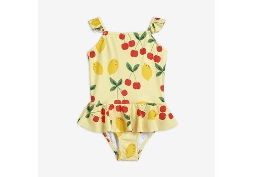 Mini Rodini Mini Rodini Cherry Lemonade Skirt Swimsuit