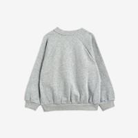 Mini Rodini Cat and Panda sweatshirt Grey Melange