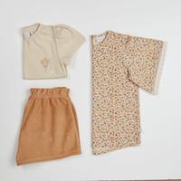 Blossom Kids Tunic short sleeves Aquarel Flower