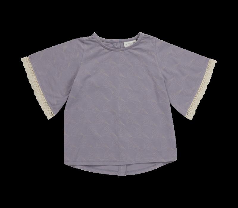Blossom Kids Tunic short sleeves Shelves Lavender