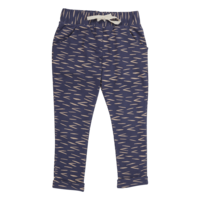 Blossom Kids Strap cord Joggers Zig Zag Royal Blue