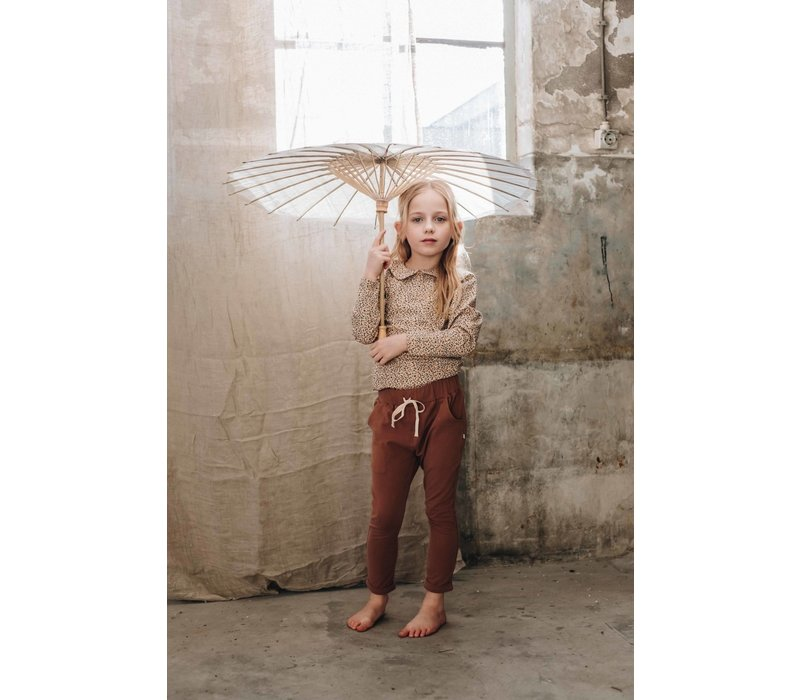Blossom Kids Strap cord Joggers Cacao