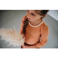 Copy of Blossom Kids Long sleeve rib Animal Dot