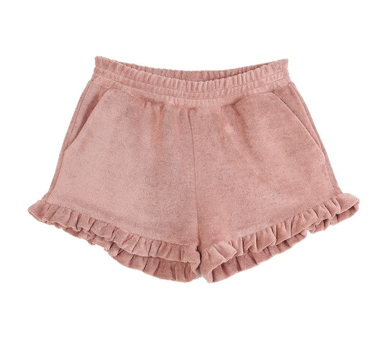 Emile et Ida Ete Terre Terry Girl Shorts