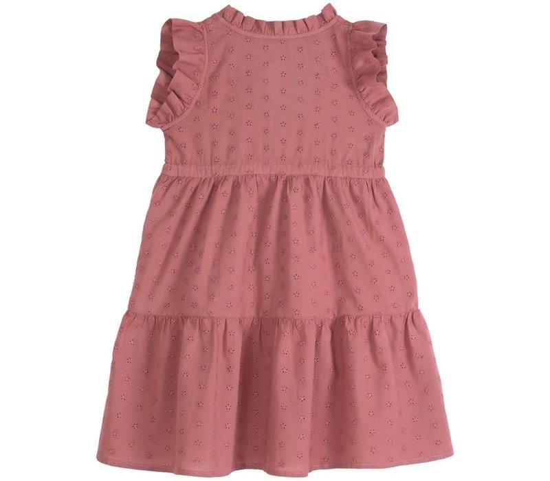 Emile et Ida Embroidery Girl Volantee Dress