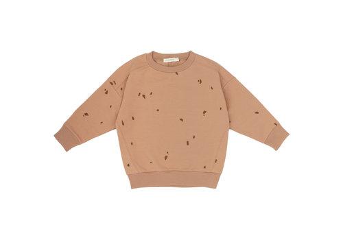 Phil&Phae Phil&Phae Oversized summer sweater stones