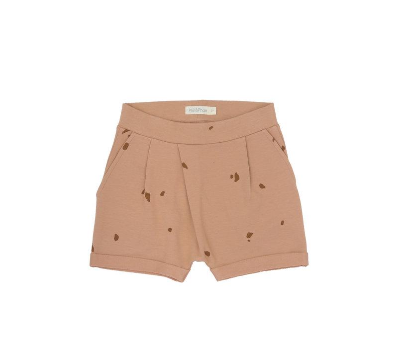 Phil&Phae Fold-over shorts stones