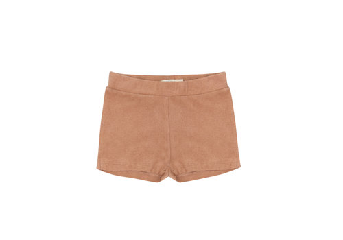 Phil&Phae Phil&Phae Frotté shorts warm biscuit