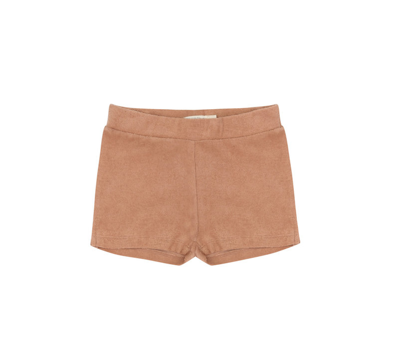 Phil&Phae Frotté shorts warm biscuit