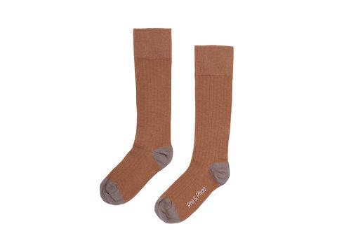 Phil&Phae Phil&Phae Ribbed knee socks hazel