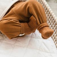 Phil&Phae Ribbed baby socks hazel