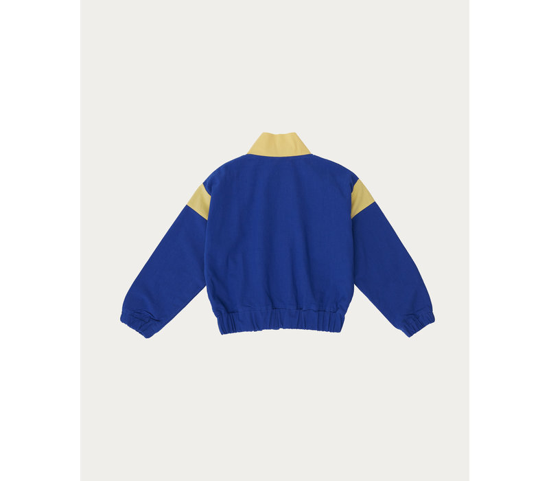 The Campamento BLUE CONTRASTED JACKET