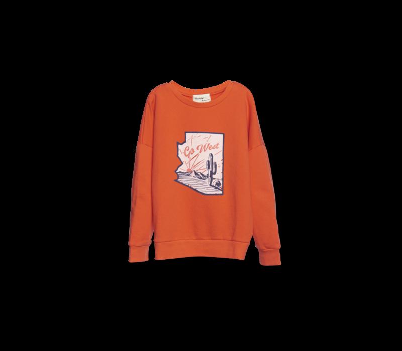Wander & Wonder Summer Sweatshirt Fire