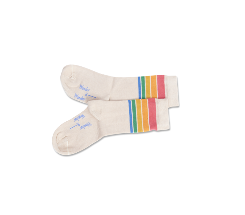Wander & Wonder Rainbow Stripe Socks