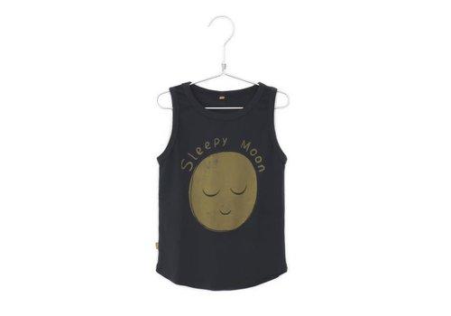 Lötiekids Lotiekids Tank Top Sleepy Moon Charcoal
