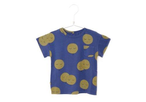 Lötiekids Lotiekids Tshirt short sleeve Moons Indigo Blue