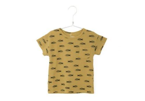 Lötiekids Lotiekids Tshirt short sleeve Fishes Sun Yellow