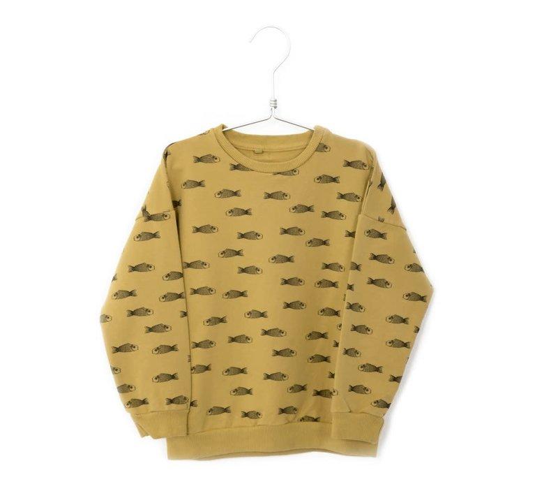 Lotiekids Sweater Fishes Sun Yellow