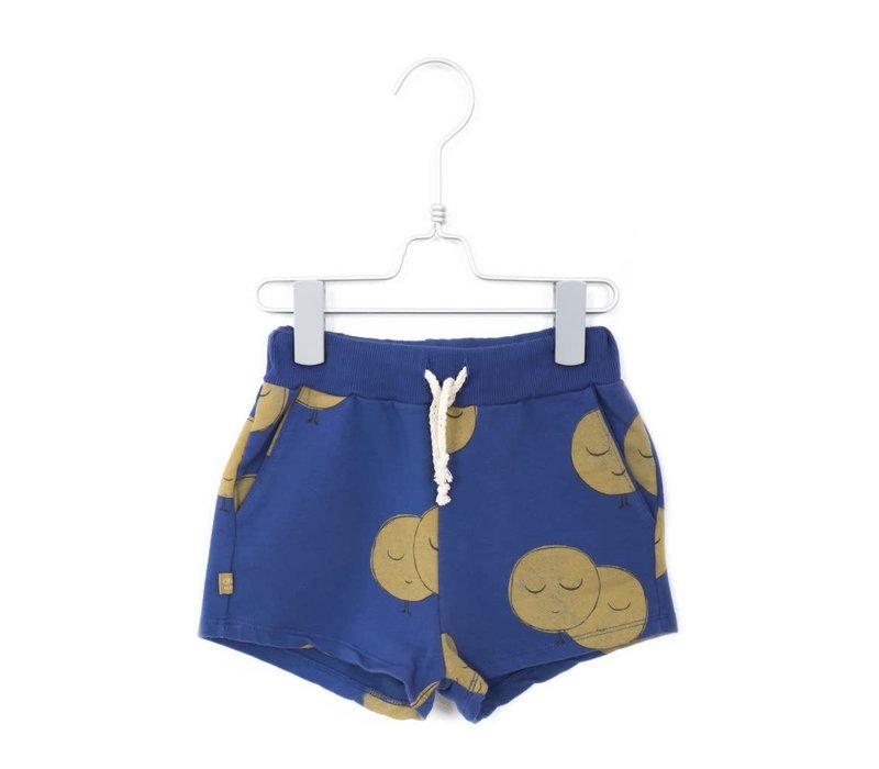 Lotiekids Shorts Moons Indigo Blue