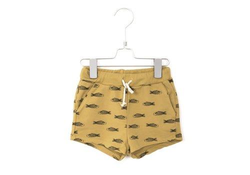Lötiekids Lotiekids Shorts Fishes Sun Yellow