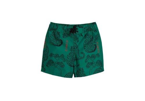 Mini Rodini Mini Rodini Tigers swim shorts Green