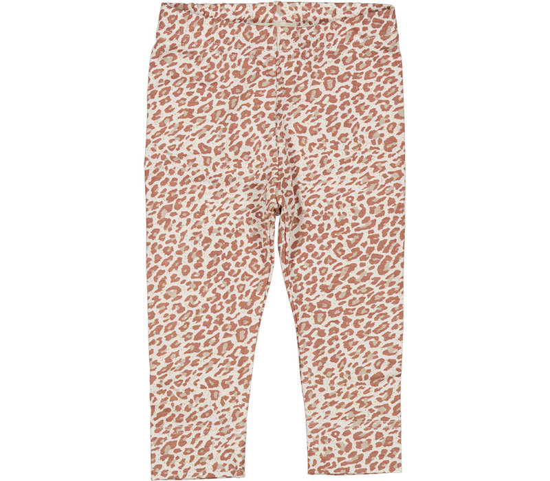 MarMar Copenhagen Leopard Pants / Leg Rose Brown