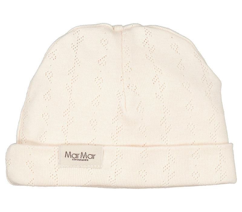 MarMar Copenhagen New Born Hat Delicate Rose pointelle Aiko
