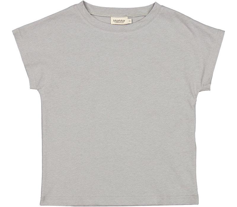 MarMar Copenhagen Tove, Linen Slub, T-shirt, Chalk