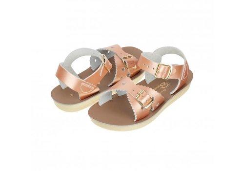 Salt-Water Sandals Salt-Water Sandals Sweetheart Child Rose Gold