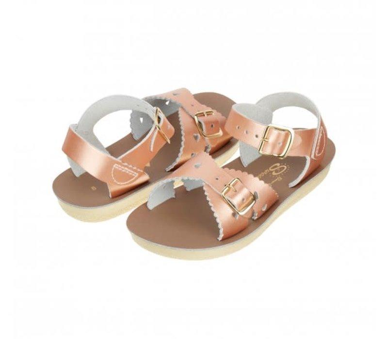Salt-Water Sandals Sweetheart Rose Gold