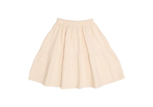 Petit Blush Petit Blush Lewis frill Skirt Sandshell