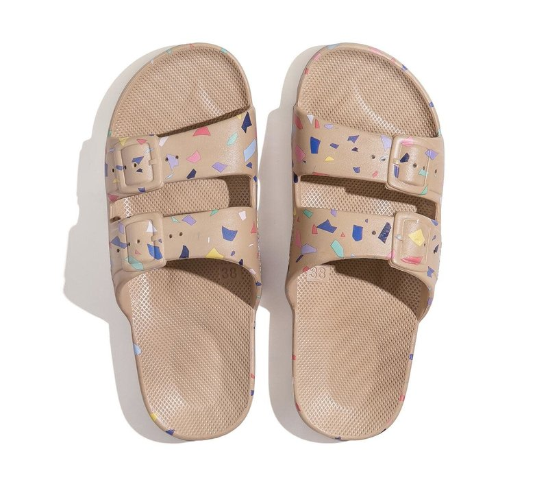 Freedom Moses Sandals Fancy Terrazo Sands