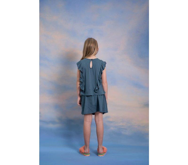 Repose AMS 6. mini skirt, midnight grey