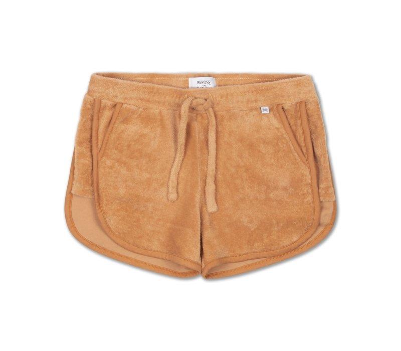 Repose AMS 13. sporty short, warm tawny