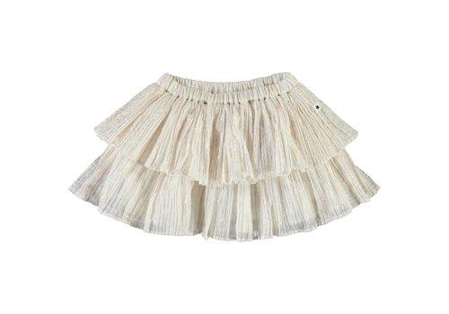 Molo Molo Bianca Skirt Metalic stripe