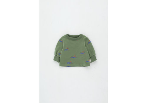 TINYCOTTONS TINYCOTTONS SS21-129  Doggy Paddle Sweatshirt