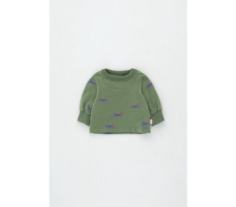 TINYCOTTONS SS21-129  Doggy Paddle Sweatshirt