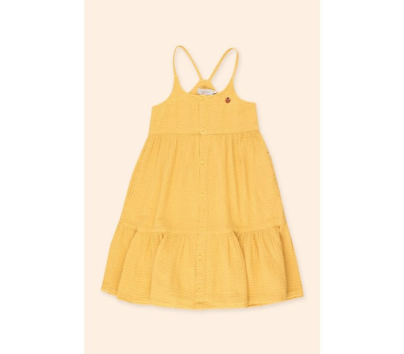 TINYCOTTONS SS21-204 WAVES STRAPS DRESS