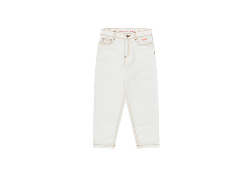 TINYCOTTONS TINYCOTTONS SS21-293 TINY BAGGY JEANS off-white