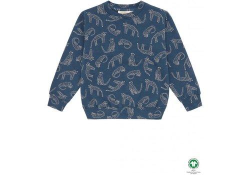 Soft Gallery Soft Gallery Baptiste Sweatshirt Majolica Blue, AOP Loeline