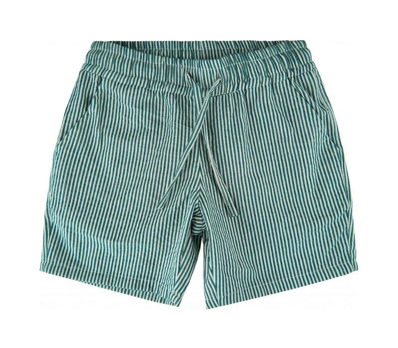 Soft Gallery Bruno Shorts AOP Seersucker Stripe